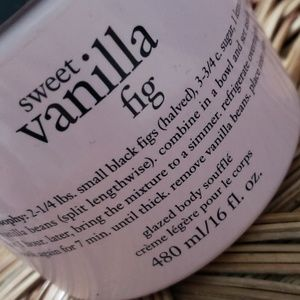 Philosophy sweet vanilla fig body souffle